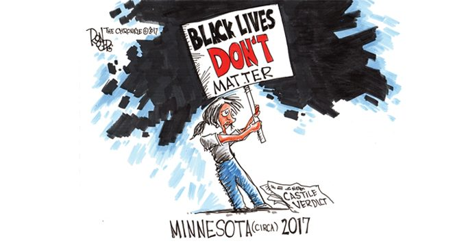 Editorial Cartoon: Lives matter?