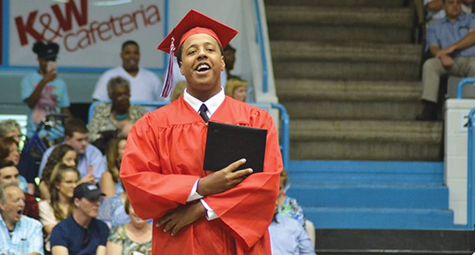 Joines encourages class of 2017 to accept change and take chances