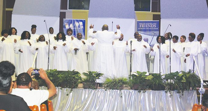 Willie Mason and Friends excites the Galilee crowd