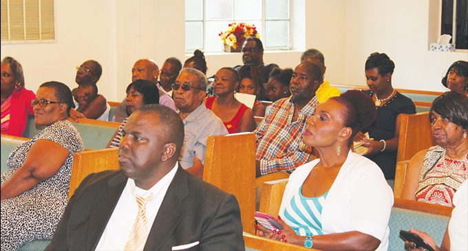 Church started in funeral home celebrates 40th year