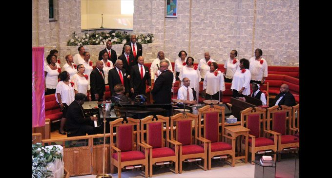 Church choir celebrates choir directors