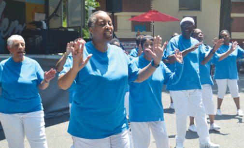 Hundreds celebrate legacy of city's first black neighborhood