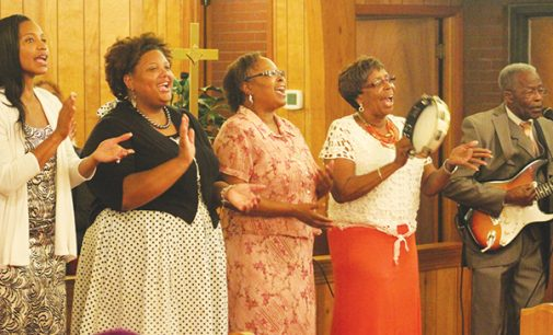 Church celebrates homecoming and revival