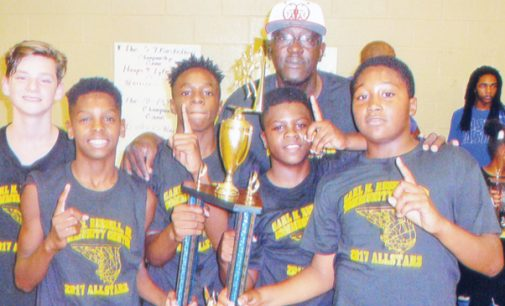 Community center ends summer league with a bang