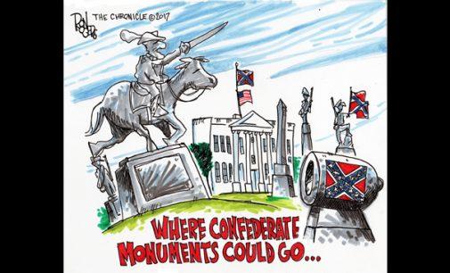 Editorial Cartoon: Confederate Momuments