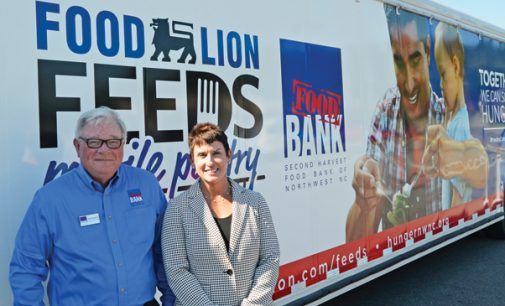 Food Lion donates mobile food pantry to Second Harvest