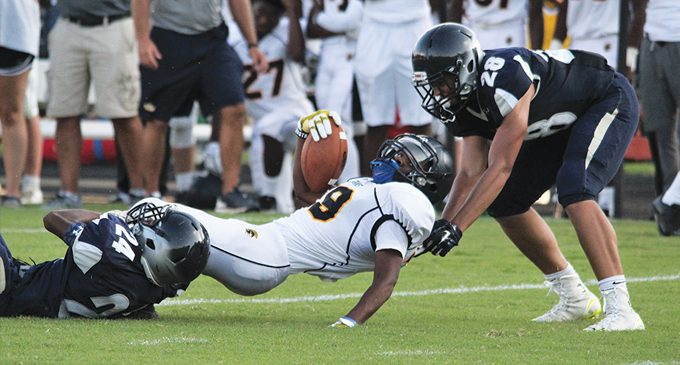 East Forsyth makes statement against Mt. Tabor