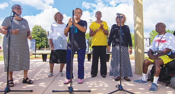 Gospel concert shows off park renovations