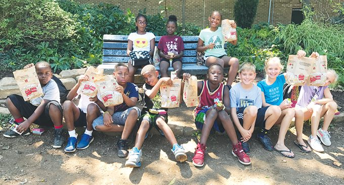 McDonald's donates meals to campers