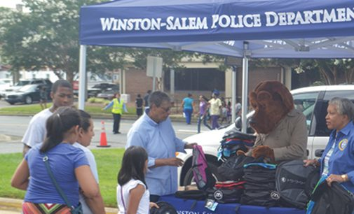 Local police host school supply giveaway