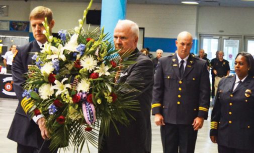 9/11 commemoration centers on first responders
