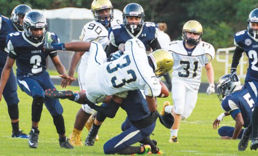 Turnovers lead to E. Forsyth's first loss of season