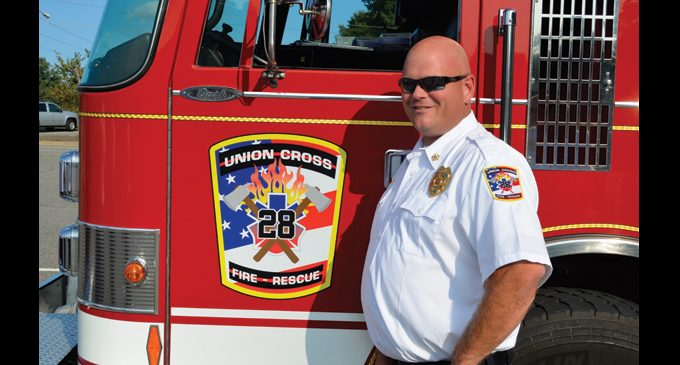 N.C. Insurance commissioner recognize fire departments