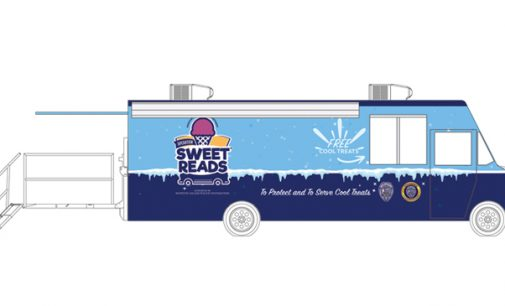 WSPD getting ice cream truck and bookmobile