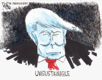 Commentary: Our deranged president