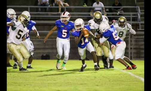 Parkland climbs back with tight win