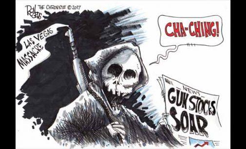 Editorial Cartoon: Vegas Massacre
