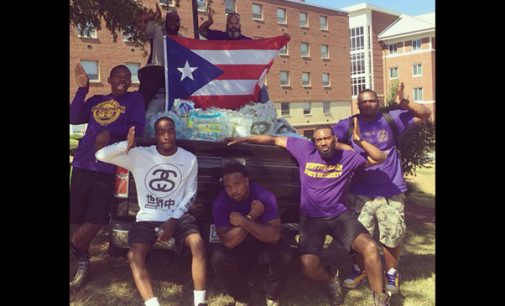Omega Psi Phi chapter sponsors Puerto Rico relief efforts