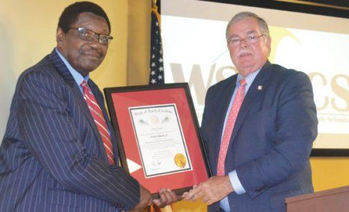 Victor Johnson Jr. gains high honor