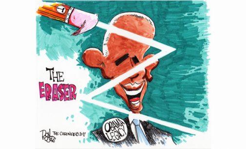Editorial Cartoon: The Eraser