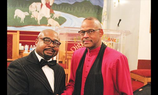 Ministers' Conference president celebrates 8 years at Diggs Memorial