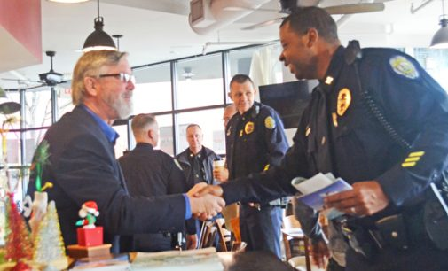 Coffee with a Cop continues to unite community