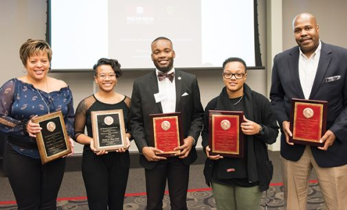 WSSU, Wake Forest honor several with awards