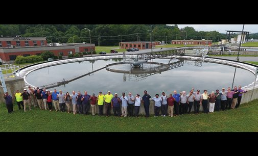 Wastewater plant recognized for excellence