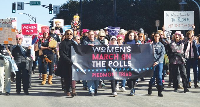 Thousands from across the state march on the polls in W-S