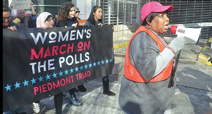 Editorial: In the 21st century, women still marching