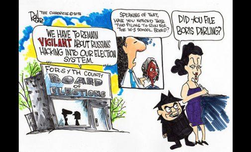 Editorial Cartoon: Russian Influence?