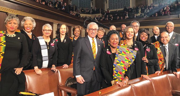 Fifty-Five Strong: The largest  Congressional Black Caucus kicks off the 116th Congress