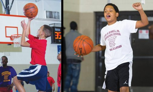 Youth basketball league heats up