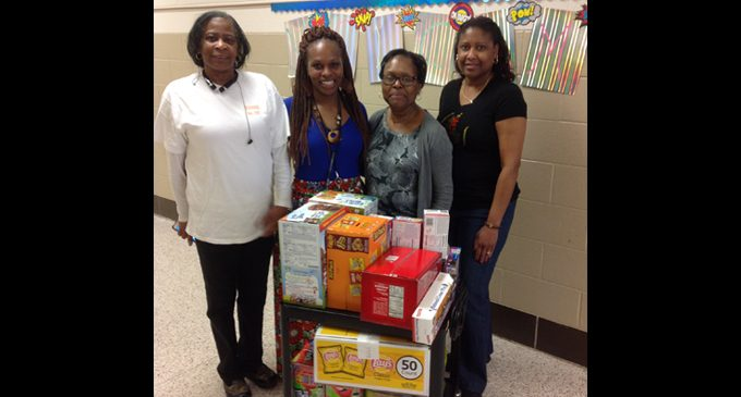 Group gives back with snacks