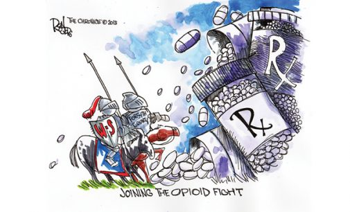 Editorial Cartoon: Opioid Fight