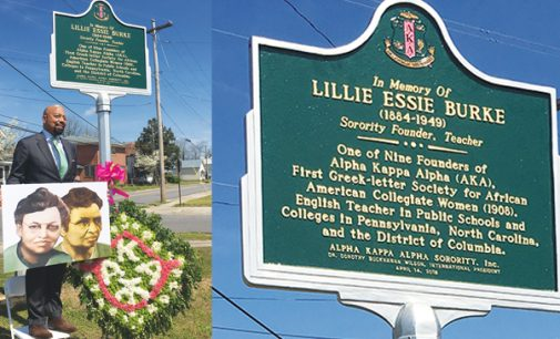 Founders of Alpha Kappa Alpha honored with historic marker