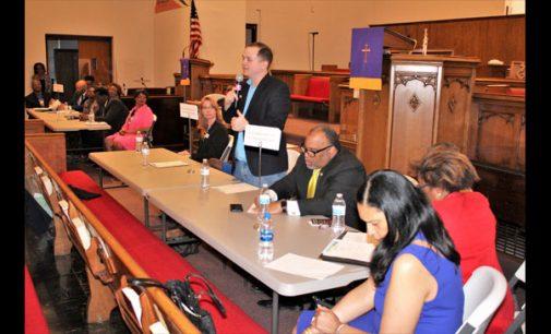 Faith leaders organize candidates forum