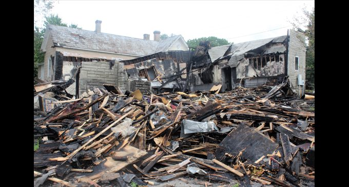 Clergy unite to help church after fire