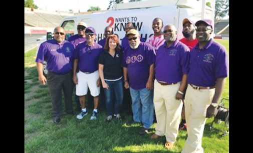 Chapters of fraternity assist at sponsored Shred-A-Thon