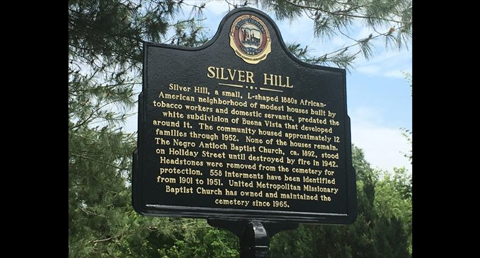 Marker commemorates black neighborhood