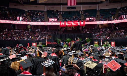 Make the world better, speaker tells WSSU grads