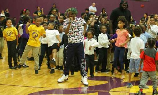 Winston native who won rap contest performs at Quality Education Academy