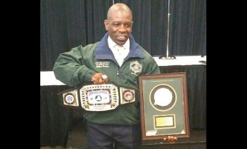 Local wrestler enshrined into national Hall of Fame