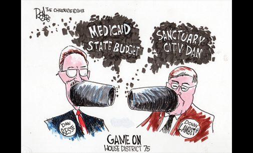 Editorial Cartoon: Game On