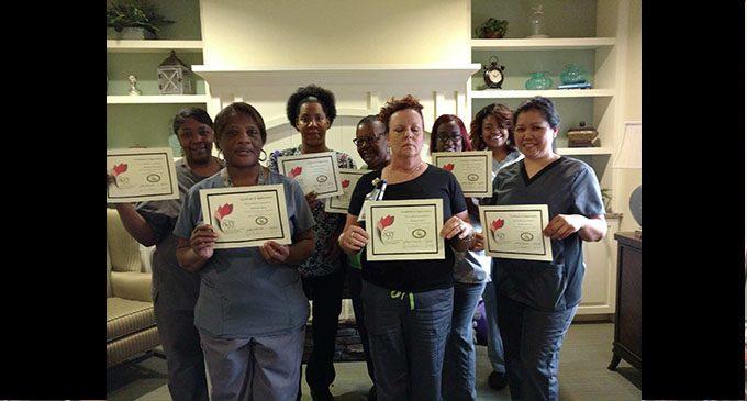 Certified nursing assistants get special treatment