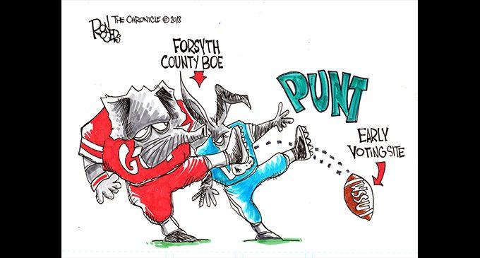 Editorial Cartoon: Punt