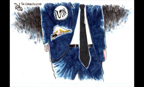 Editorial Cartoon: Trump-Putin