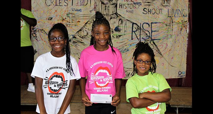Poetry slam contest draws youth to rec center