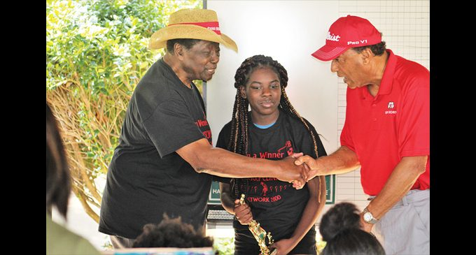 Young golfers receive recognition