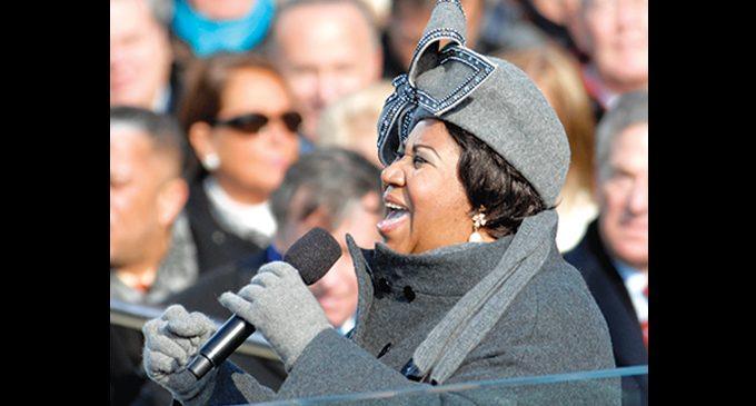 Aretha Franklin: history-maker